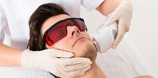 Как проводится мужская эпиляция лазером?